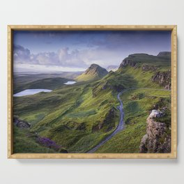 The Road to the Quiraing Serving Tray