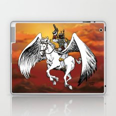 Boba Fett riding Pegasus Laptop & iPad Skin