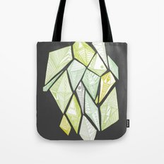 green diamonds Tote Bag