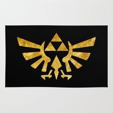 Zelda Golden Hylian Crest Rug