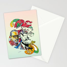 Homage to Theodor Seuss Geisel Stationery Cards