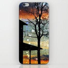 Winter Electric iPhone Skin