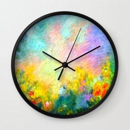 Autumnal Concept Wall Clock