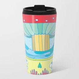 Happy fungus Metal Travel Mug