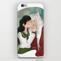 inuyasha iPhone & iPod Skins featuring What a surprise! by Madoso