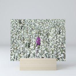 Purple One Mini Art Print
