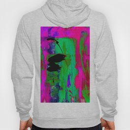 Abstraction Wonder No.2k by Kathy Morton Stanion Hoody