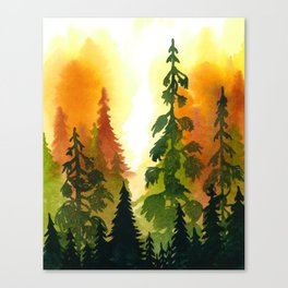 Summers' End II Canvas Print