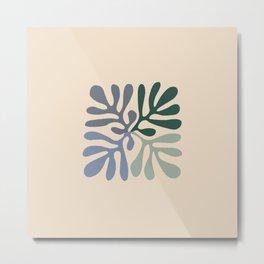 Matisse cutouts abstract drawing, Metal Print