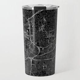 Atlanta Black Map Travel Mug