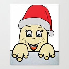 Merry Christmas,Frohe Weihnachten,Joyeux Noël ,Buon Natale,Navidad,Feliz Natal,С Рождеством Canvas Print