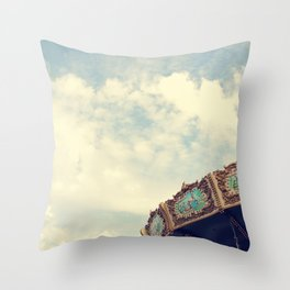 Swing Ride Throw Pillow