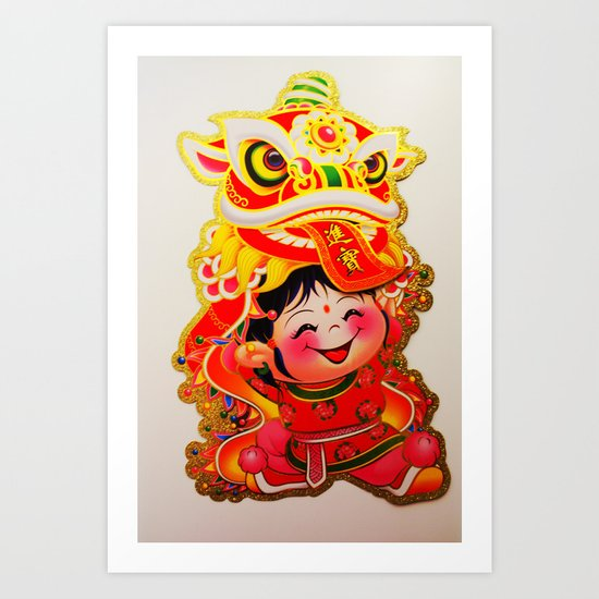 Chinese New Year 2013 Art Print