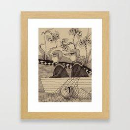 The Golden Fish (2) Framed Art Print