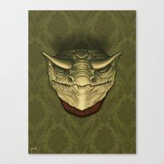 Dragon Head Canvas Print