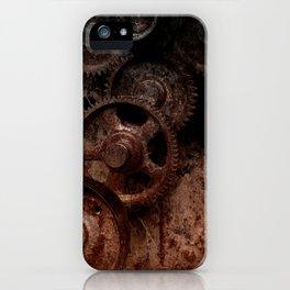 Gear mechanism shady iPhone Case