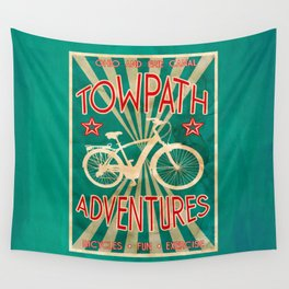 TOWPATH ADVENTURES Wall Tapestry