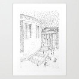 British Museum - London Art Print