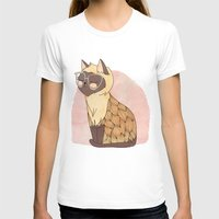 nan lawson T-shirts featuring Hip Cat by Nan Lawson