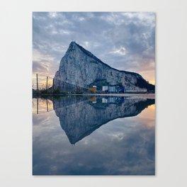 The rock of Gibraltar Canvas Print