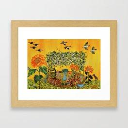 """""""Fiori della Passione"""" by ICA PAVON Framed Art Print"""