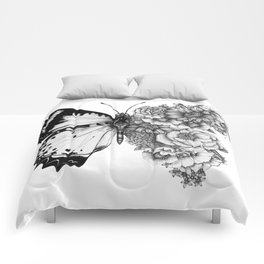 Butterfly in Bloom Comforters