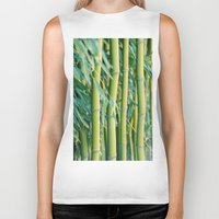 bamboo Biker Tanks featuring Bamboo by Laura Ruth