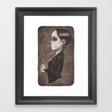 Wednesday Framed Art Print