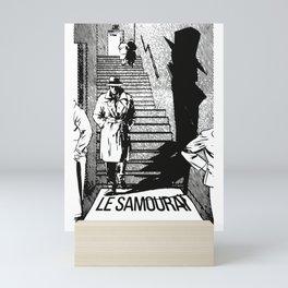 Le Samourai Movie Poster Artwork Mini Art Print