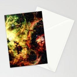 Tarantual Nebula Red Yellow Green Stationery Cards