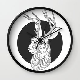 The Jackelope Wall Clock