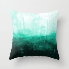Paint 8 abstract minimal modern water ocean wave painting must have canvas affordable fine art Throw Pillow