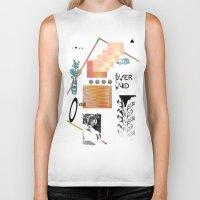 tits Biker Tanks featuring I love tits (overandover) by Marta Veludo