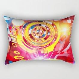 Christmas star Rectangular Pillow