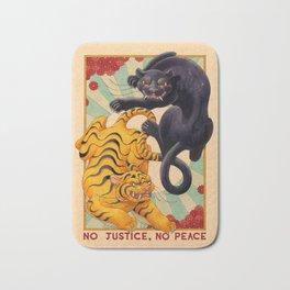 No Justice, No Peace Bath Mat