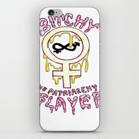 buffy iPhone & iPod Skins featuring Buffy Spin-off  by TheFrizzKid