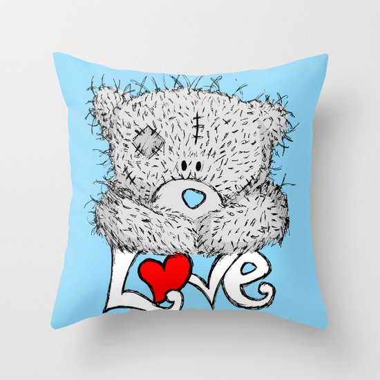 ME TO YOU=LOVE Throw Pillow