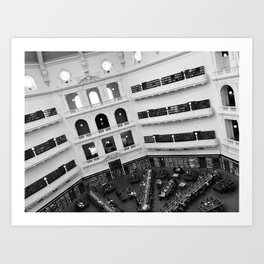 The State Library of Victoria Art Print