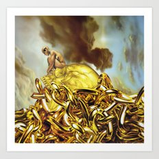 The Golden Child Art Print