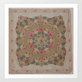 Tessellations Quilt Art Print