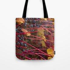 Berries and Leaves Tote Bag
