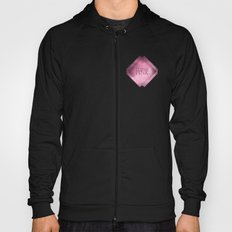 Think pink geometric shapes Hoody
