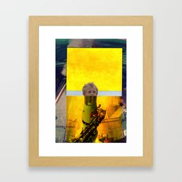 start the boy Framed Art Print