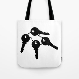 Bunch Of Keys Tote Bag