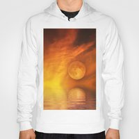 skyfall Hoodies featuring skyfall by LuMixaArt