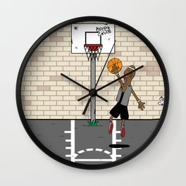 Jump Ball Wall Clock