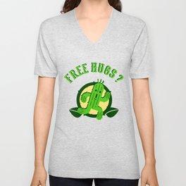 Free Hugs II Unisex V-Neck