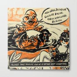 The Creature Metal Print