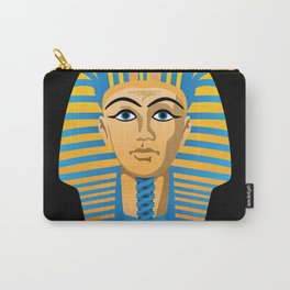 Egyptian Golden Pharaoh Burial Mask Carry-All Pouch