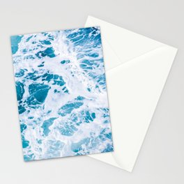 Perfect Ocean Sea Waves Stationery Cards